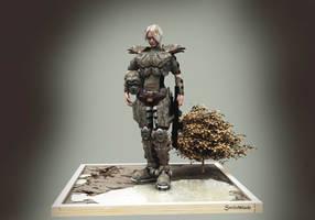 Mech Diorama by switchblade0739