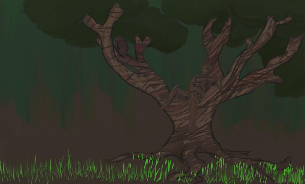 Chillin In A Tree by MariekeSmit