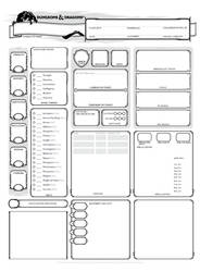 NPC sheet
