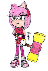 Sonic Boom: Amy by Sceptilianblade