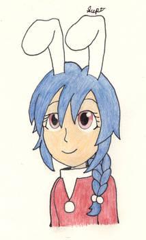 Aru the Santa Bunny