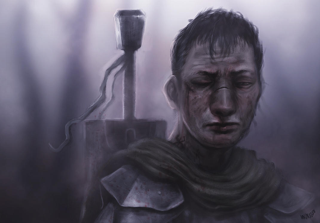 The Black Swordsman by LiftYourSkinnyFists