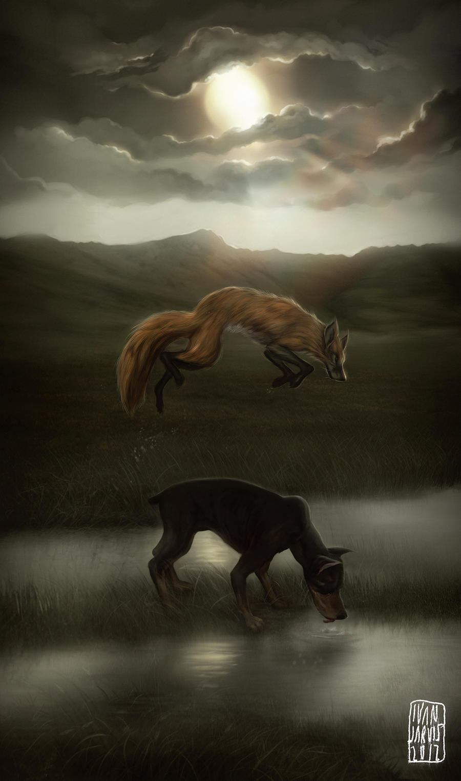 Quick Brown Fox by LiftYourSkinnyFists