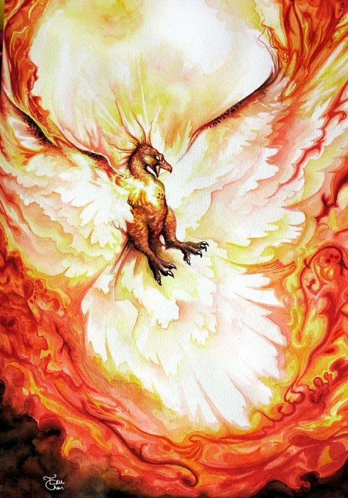 Phoenix Sky by WeijiC