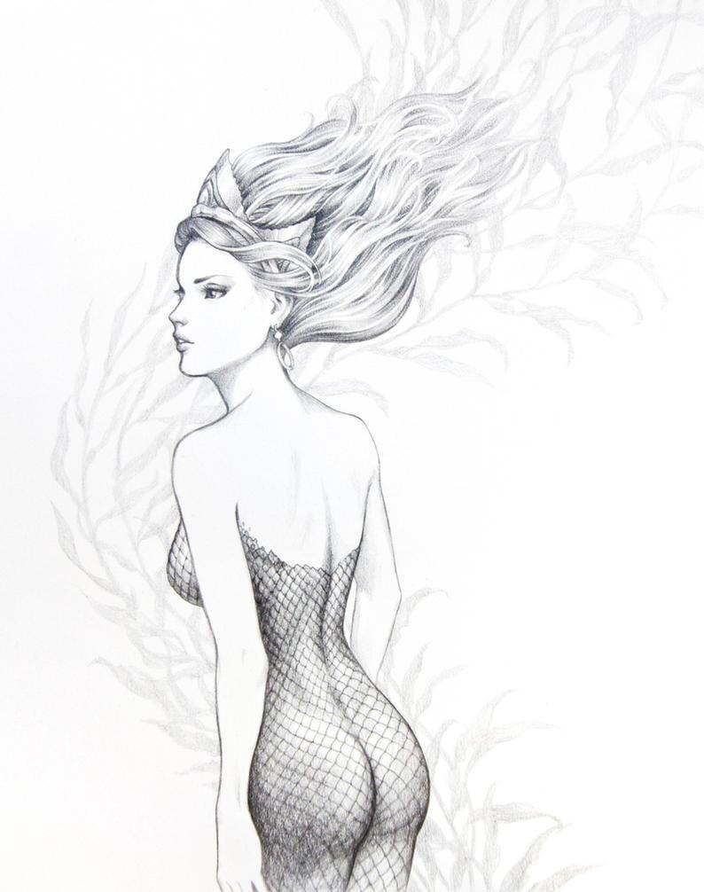 Queen of the depths by WeijiC