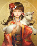 Seasons Greetings 2015, the Year of the Sheep by WeijiC