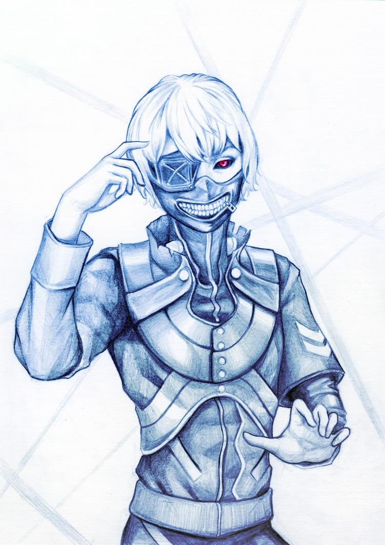 Tokyo Ghoul: Ken Kaneki by WeijiC