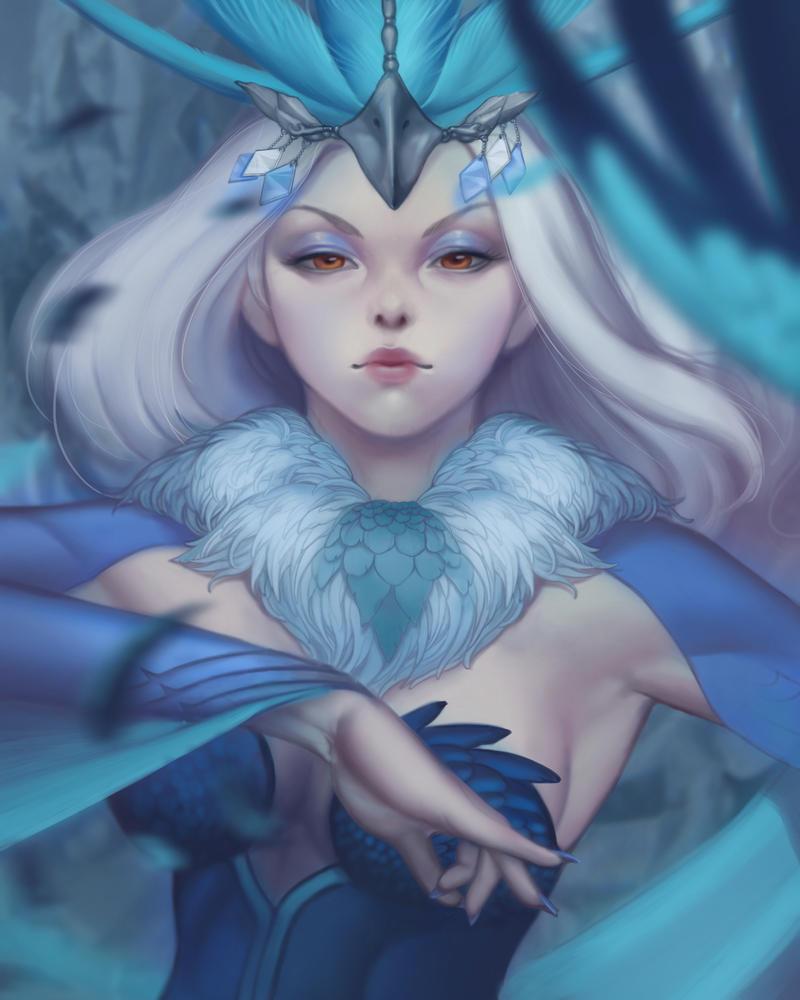 Mystic Ice by WeijiC