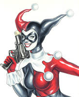 Classic Harley Quinn by WeijiC
