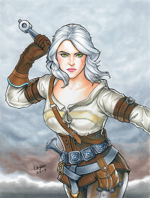 Ciri from Witcher Commission