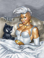 Punk Storm Commission by WeijiC