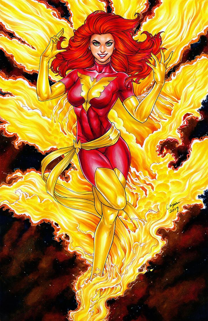 Dark Phoenix by WeijiC