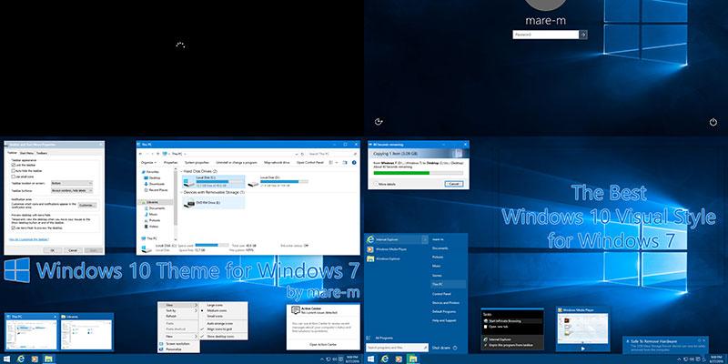 Windows 10 Theme For Windows 7 By Yassin Rl On Deviantart