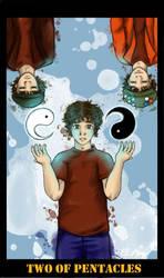 Two of Pentacles: Luke Mochrie + Inners by ObnoxiousAmy