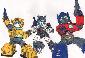 transformers g1 coloured