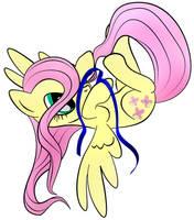 Fluttershy ribbon by zomgitsalaura