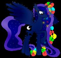 Christmas Luna by zomgitsalaura