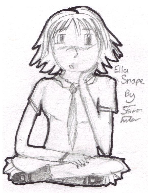 Harry Potter - Ella Snape Ella_Snape___Manga_by_Sharonxxx56