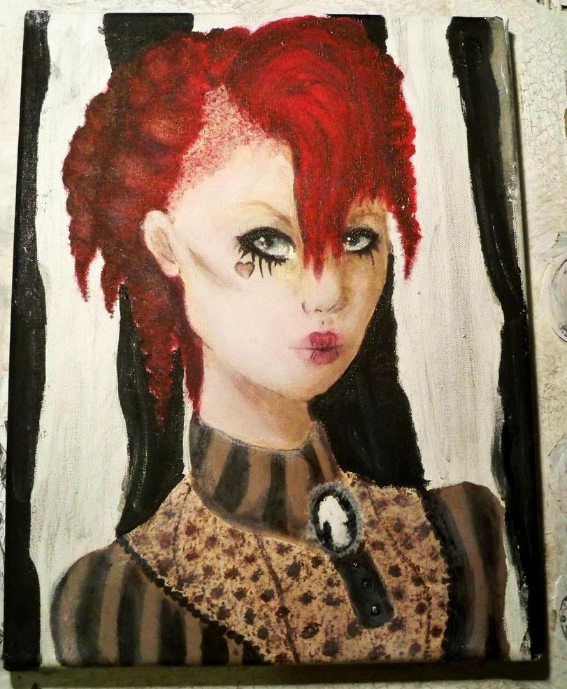 Emilie Autumn Portrait by GoryJory