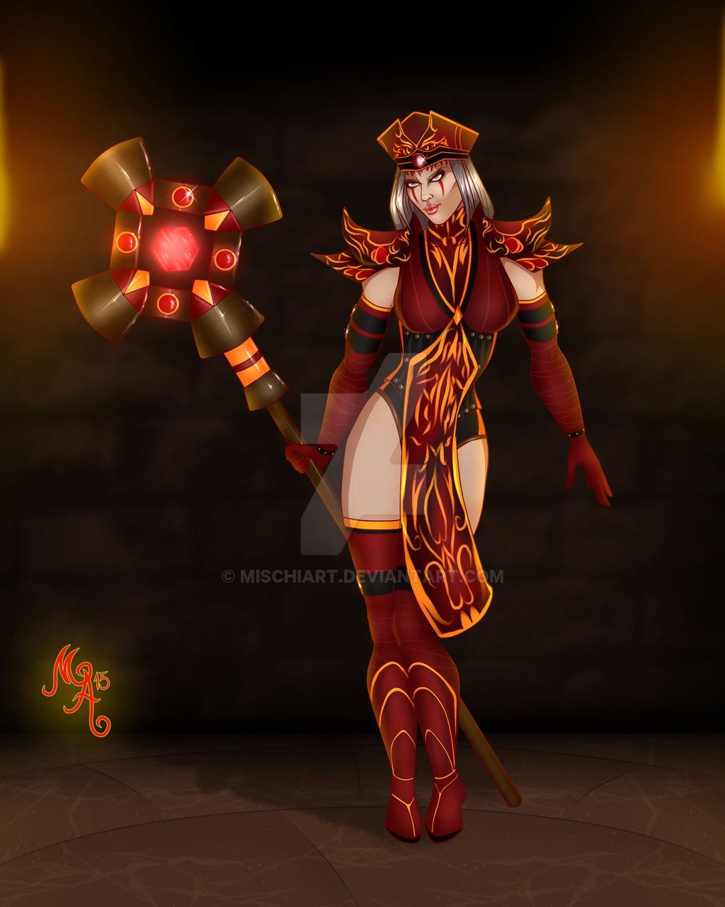 high inquisitor whitemane by mischiart on deviantart
