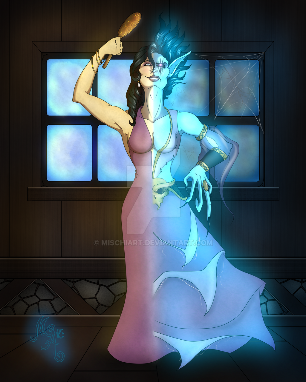 Warcraft Transition:  Blind Mary by MischiArt