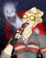 Commission:  Ishe Halloween Holtzmann by MischiArt