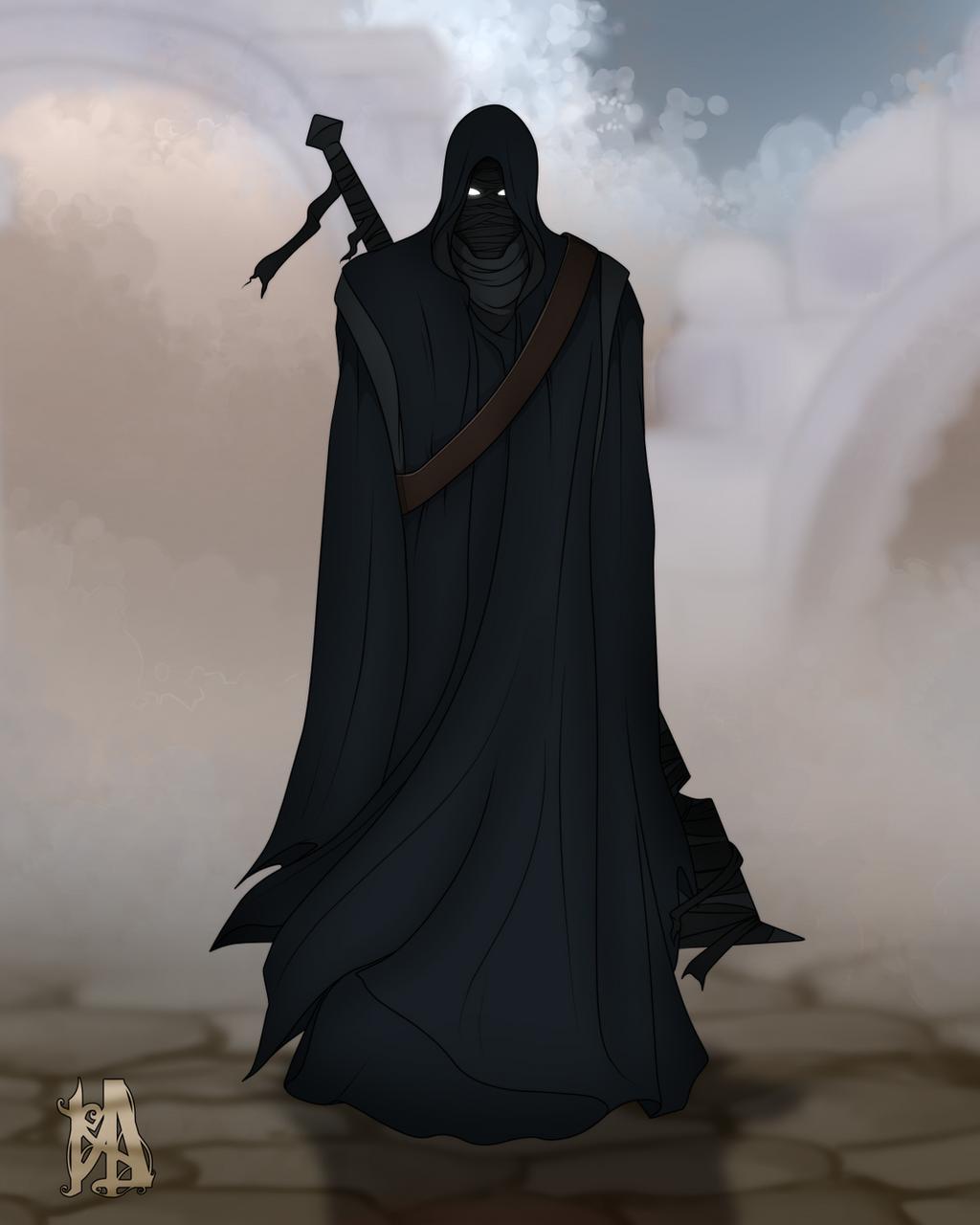 fantasy black paladin