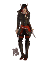 Commission: Ryssa Ravensdawn A by MischiArt