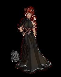 Commission: Ryssa Ravensdawn B by MischiArt