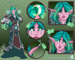 Kinslea Pt 1:  Character Sheet