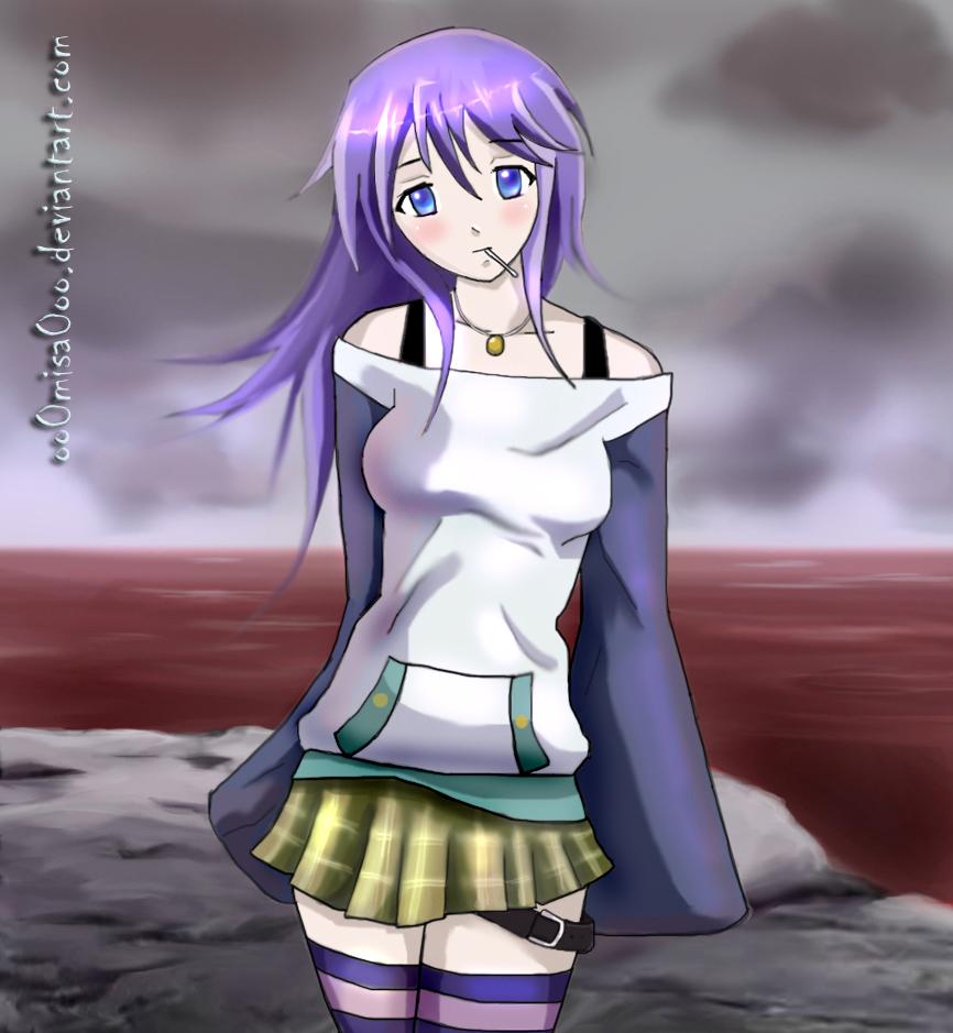 صور anime  Rosario_Vampire___Mizore_by_oo0Misa0oo