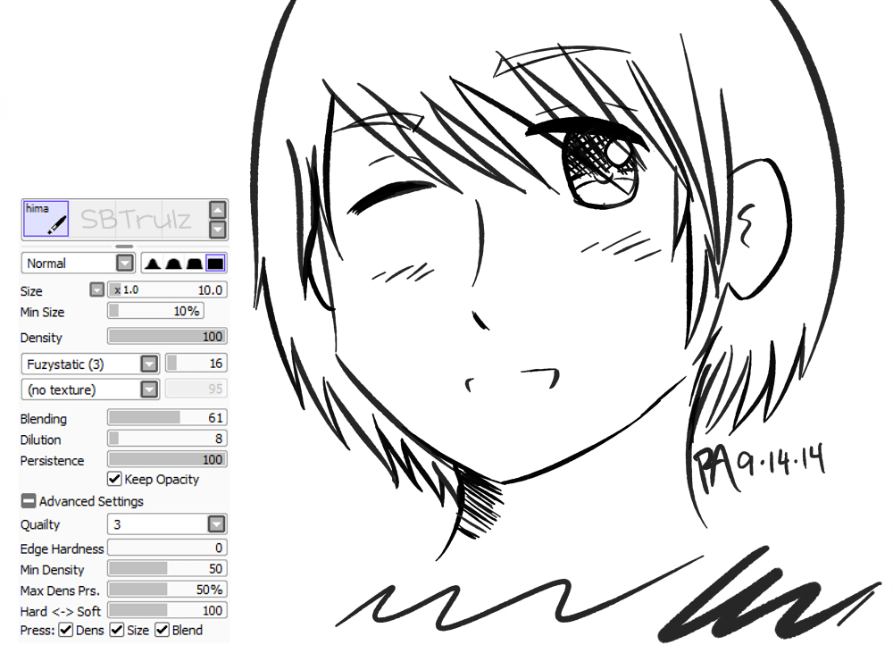 Line Art With Pen Tool : Hima sai brush by sbtrulz on deviantart