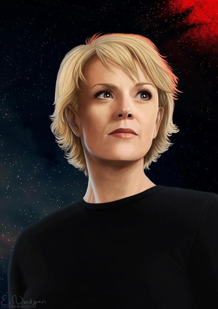 Stargate Portrait Project - Samantha Carter by EllinorNordgren