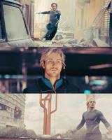 QuickSilver // Aaron Taylor-Johnson by NeroManka