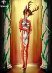 Deer Woman Furry [censored] by High-Bear