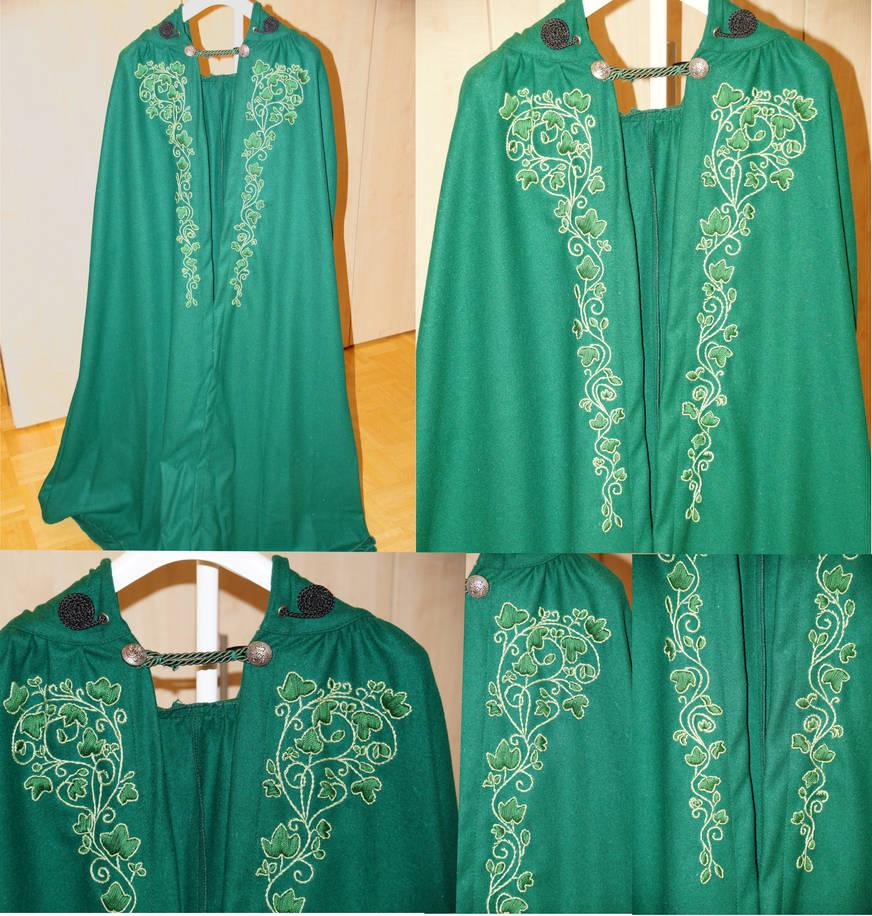 Baroque Elven Fantasy Cloak by bifishiar