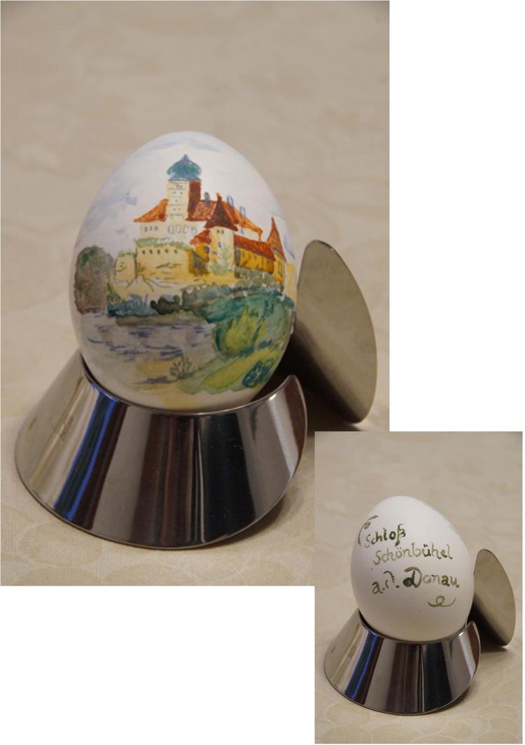 Easter Egg: Schloss Schoenbuehel by bifishiar