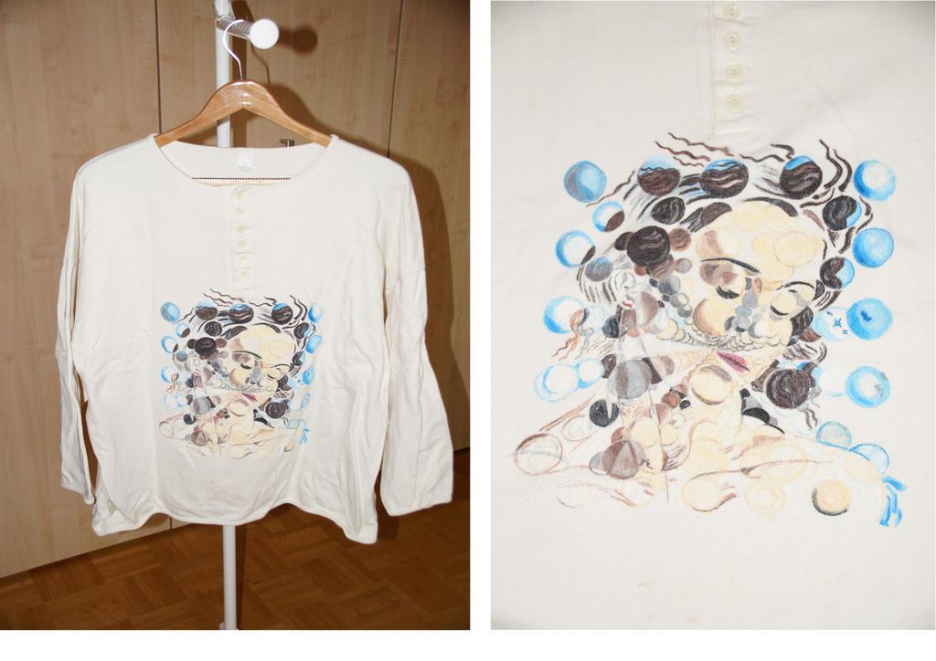 Shirt Dali - Galatea of the Spheres by bifishiar
