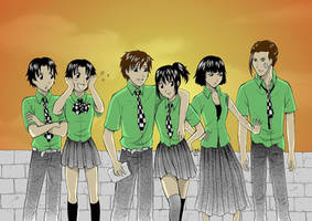 Farewell Feeling: school days by rain-and-sunshine