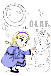 O is for Olaf