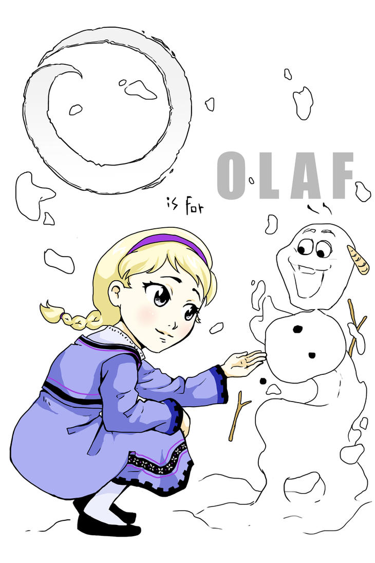 O is for Olaf by rain-and-sunshine