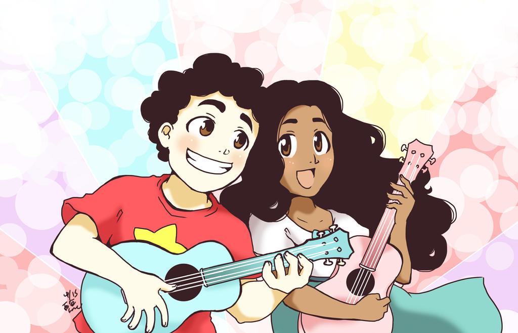 Ukulele Hearts by rain-and-sunshine