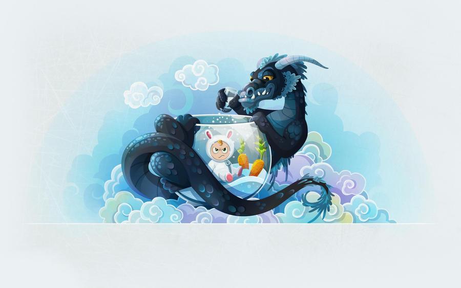 The Year of Dragon by Nataliya13