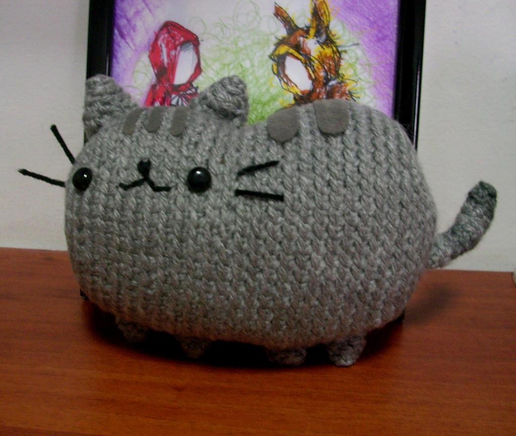 Amigurumi Pusheen Cat : Pusheen The Cat by justmagenta on DeviantArt