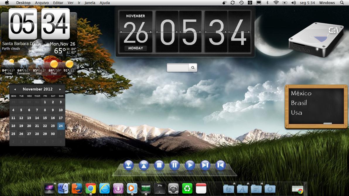 Mac OSX Metro on Windows 8 by Fortunadasca