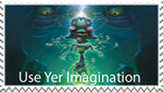 Use Yer Imagination Stamp by OWIFreak