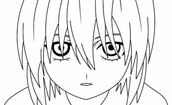 Elfen Lied Coloring Pages Coloring Pages