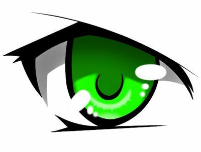 Anime Eye by Sahyuti