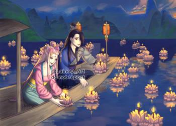 SS Ancient China AU by Laine-O