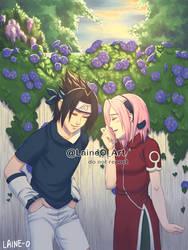 Hey Sasuke-kun... by Laine-O